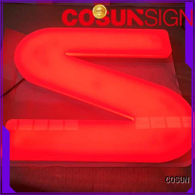 COSUN competitive price placard holder Supply for pub club
