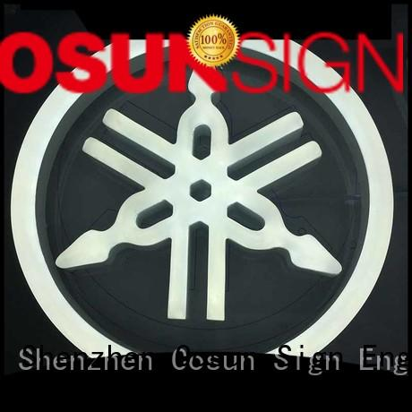 COSUN hot-sale custom lighted signs for home Supply for restaurant