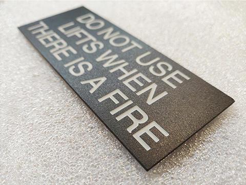 Personalised office door signs stainless steel high quality custom metal