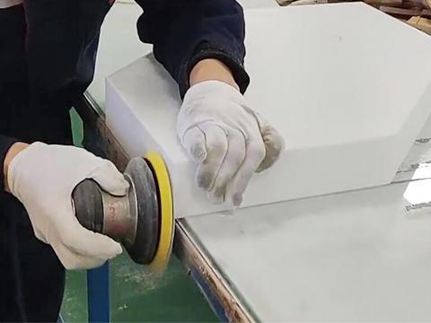 Acrylic polishing