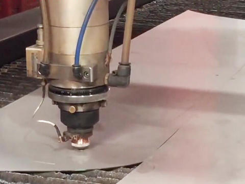 Laser cutting video