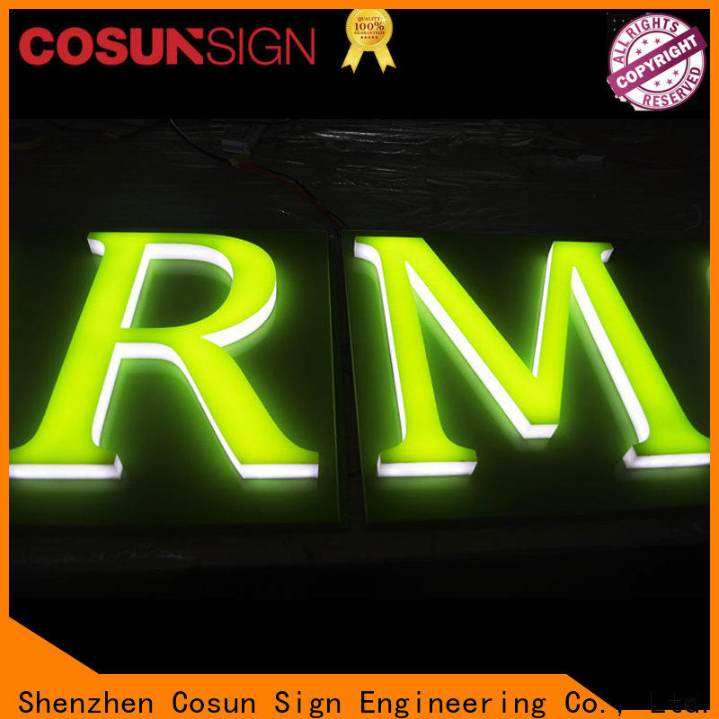 COSUN Custom parking sign holder wholesale inquire now