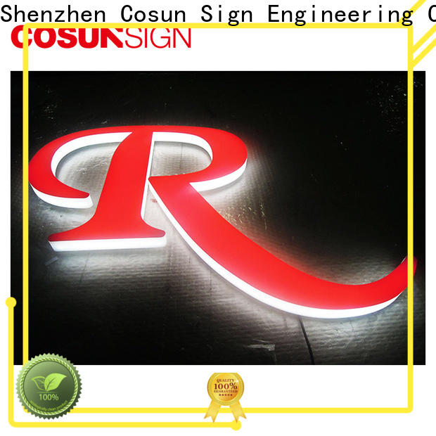 COSUN Wholesale custom design signs for business for shop