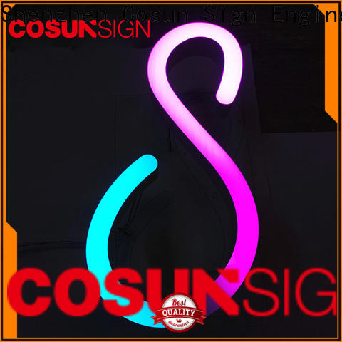COSUN clear letter poster holder acrylic at discount for shop