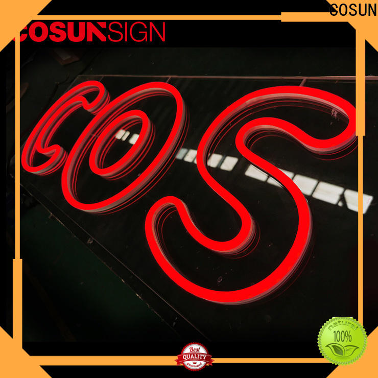 High-quality lighted bar signs for home eye-catching for business for promoting
