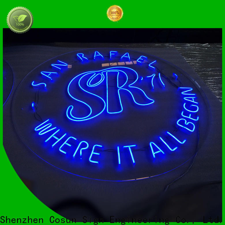 Top neon writing lights on-sale factory for promoting