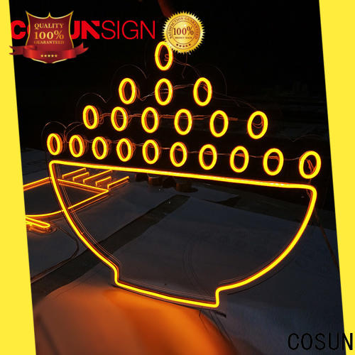 COSUN Best lighted signs for home bar Suppliers for promotion