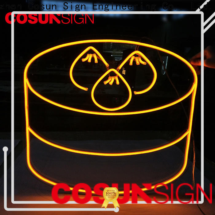 COSUN Custom where to get neon signs Suppliers