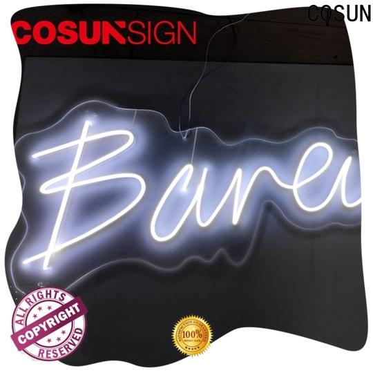 COSUN eye-catching fluorescent sign light manufacturers check now