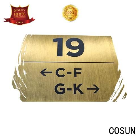 COSUN Top changeable office door signs Supply for shop