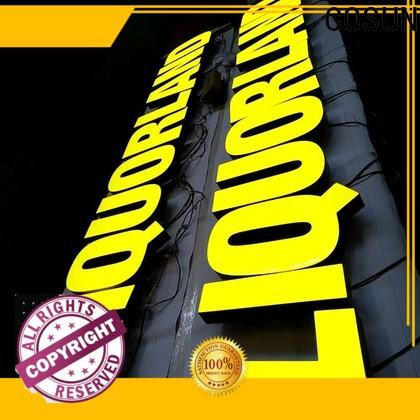 COSUN Custom resin house signs Suppliers buy now