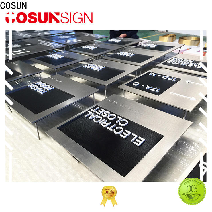 COSUN New outdoor bar signs Supply for bar