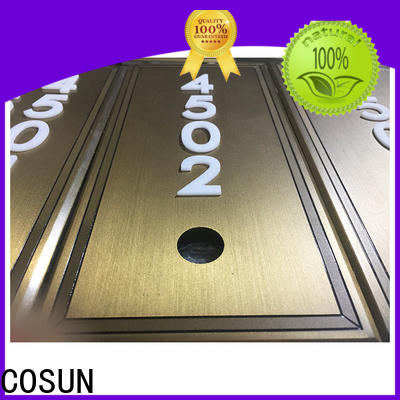 COSUN Wholesale outdoor bar signs Suppliers for toilet signage