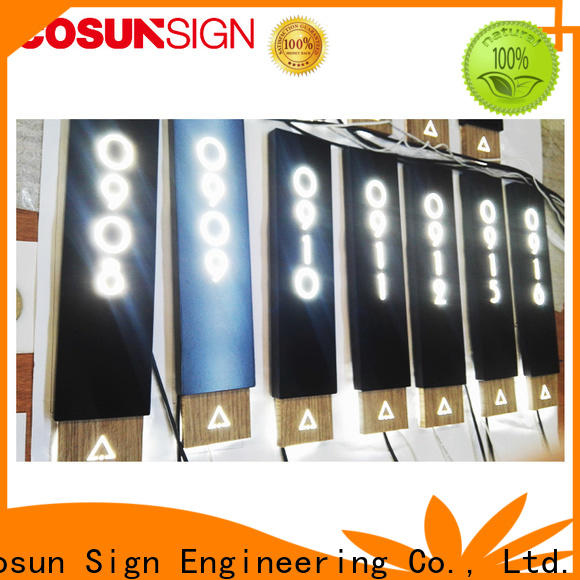 COSUN Wholesale outdoor salon signs Suppliers for decoration