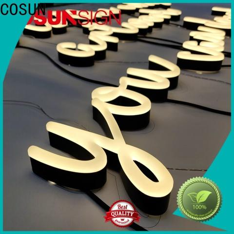COSUN on-sale hot dog neon sign Supply for warning