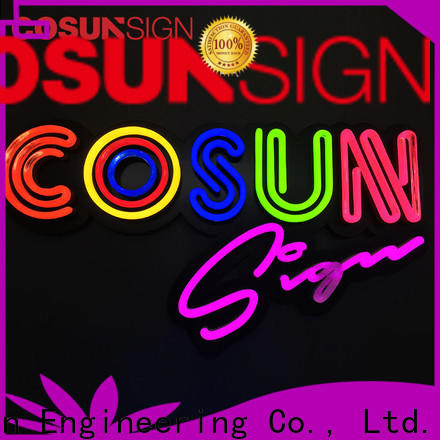COSUN on-sale red neon sign Supply for hotel