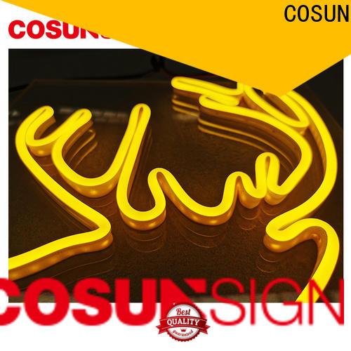 COSUN popular cactus neon sign company for decoration