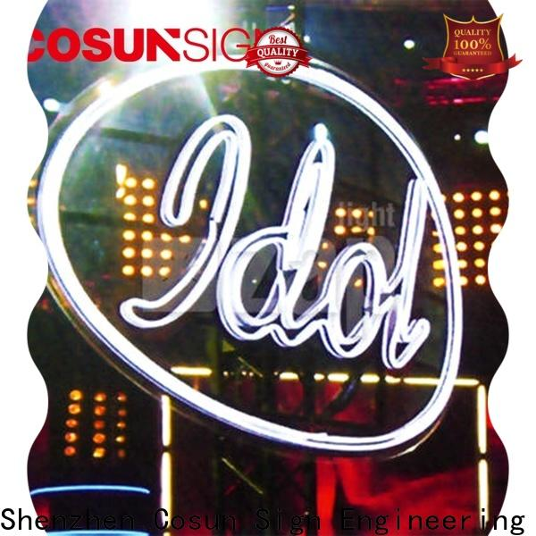 COSUN High-quality hello gorgeous neon sign factory for decoration