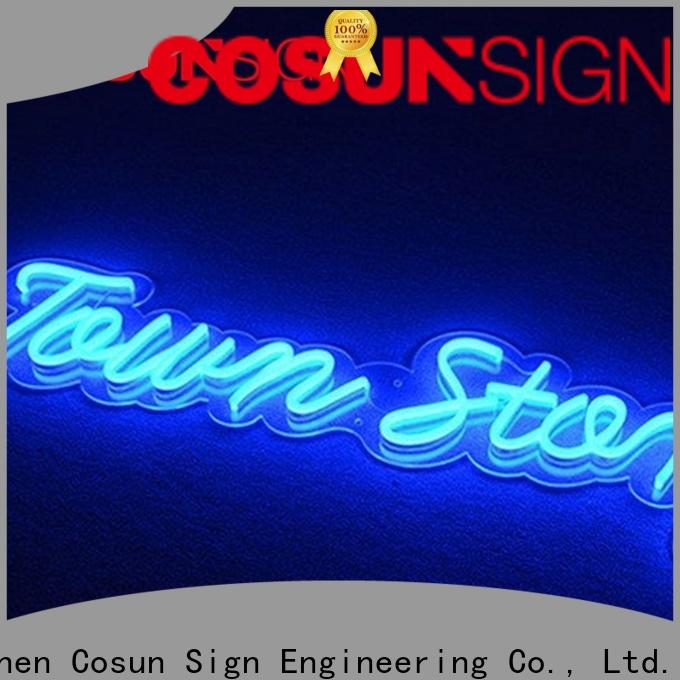 COSUN Latest neon sign letters Supply