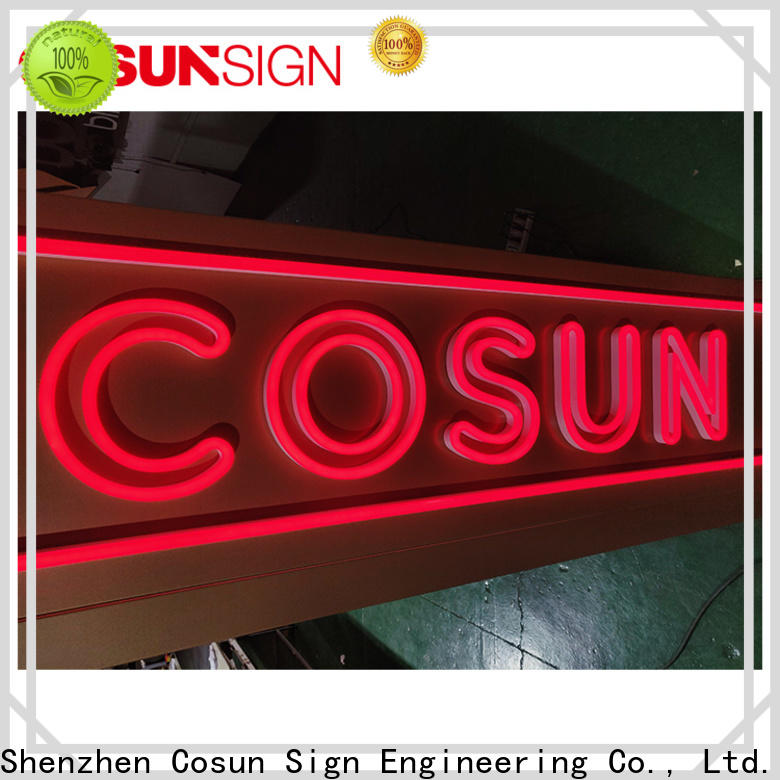 COSUN hot-sale neon sign arrow for business for promoting