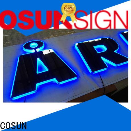COSUN Top neon acrylic for shop