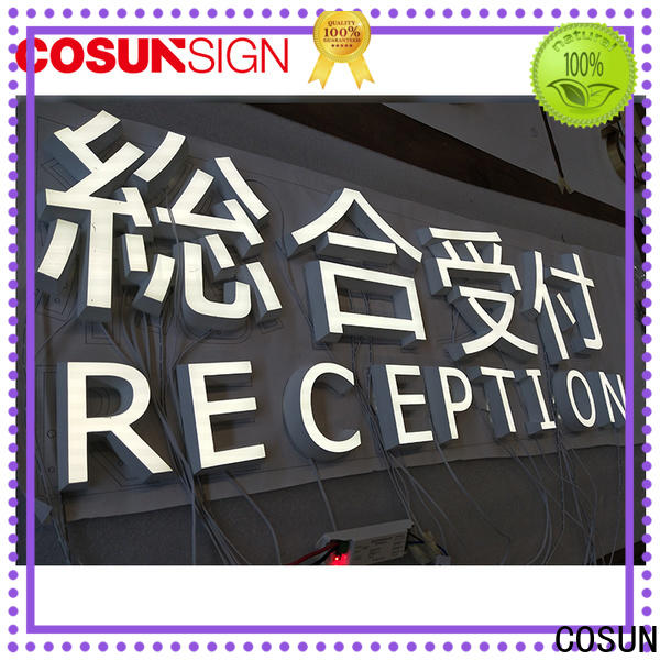 COSUN High-quality acrylic light boxes Supply inquire now
