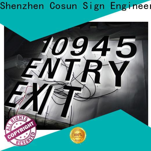 COSUN Custom custom acrylic led sign on-sale for restaurant