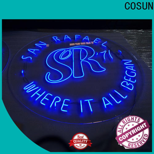 COSUN popular lips neon sign manufacturers for promoting