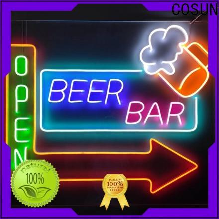 Best closed neon sign popular company for promoting