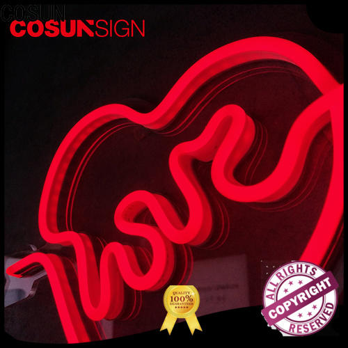 COSUN popular cocktails neon sign Suppliers for hotel