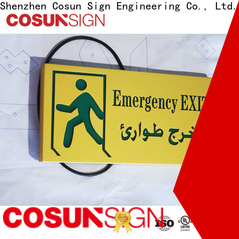 COSUN all size outdoor bar signs manufacturers for wholesale