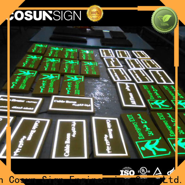 COSUN cnc aluminum neon outdoor lights company house decoration