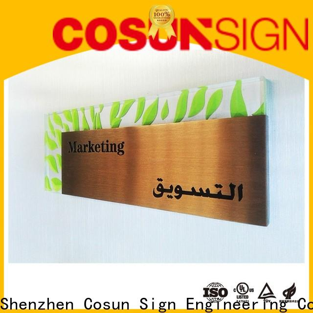 COSUN painted outdoor bar signs personalized Supply for wholesale