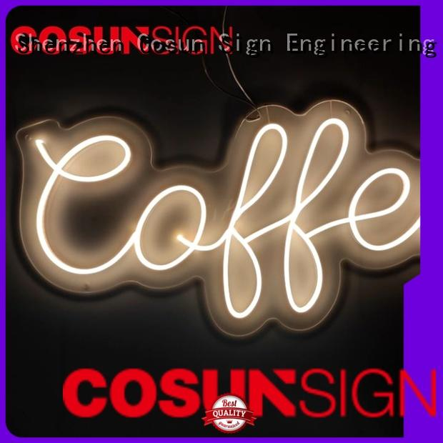 COSUN Best neon letter lights for sale Suppliers for decoration