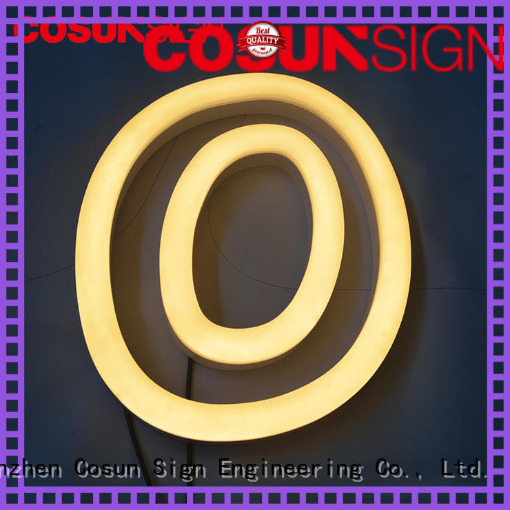 COSUN eye-catching neon green sign Suppliers for hotel