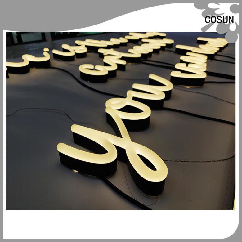 popular custom neon signs unique COSUN