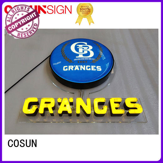 COSUN High-quality fluorescent sign lamps factory check now