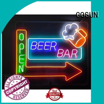 COSUN High-quality budweiser neon sign factory for decoration