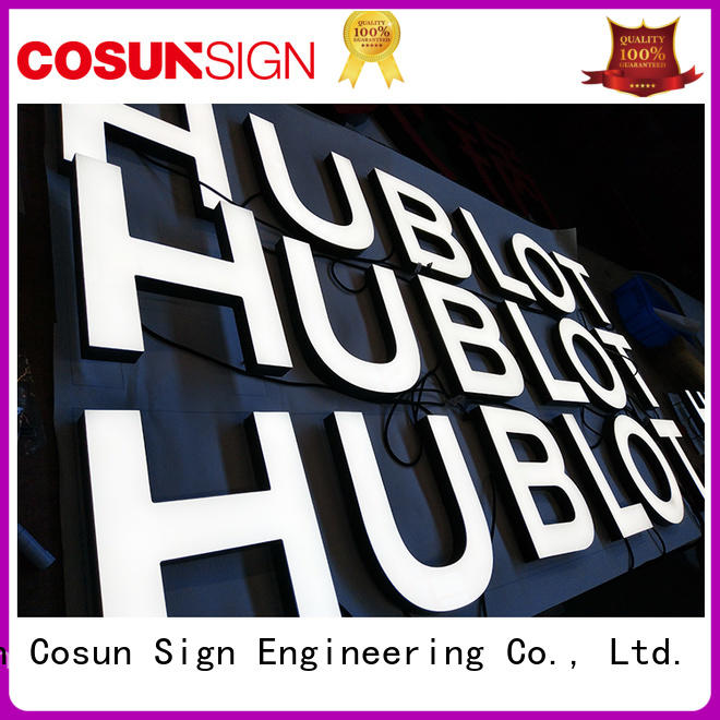 COSUN New vertical double sided stand up acrylic sign holder Supply inquire now