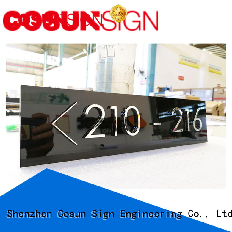 open closed door signs acrylic for warning COSUN