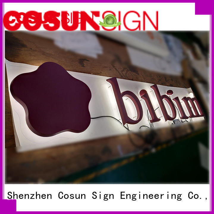Custom sign company high-quality company for pub club