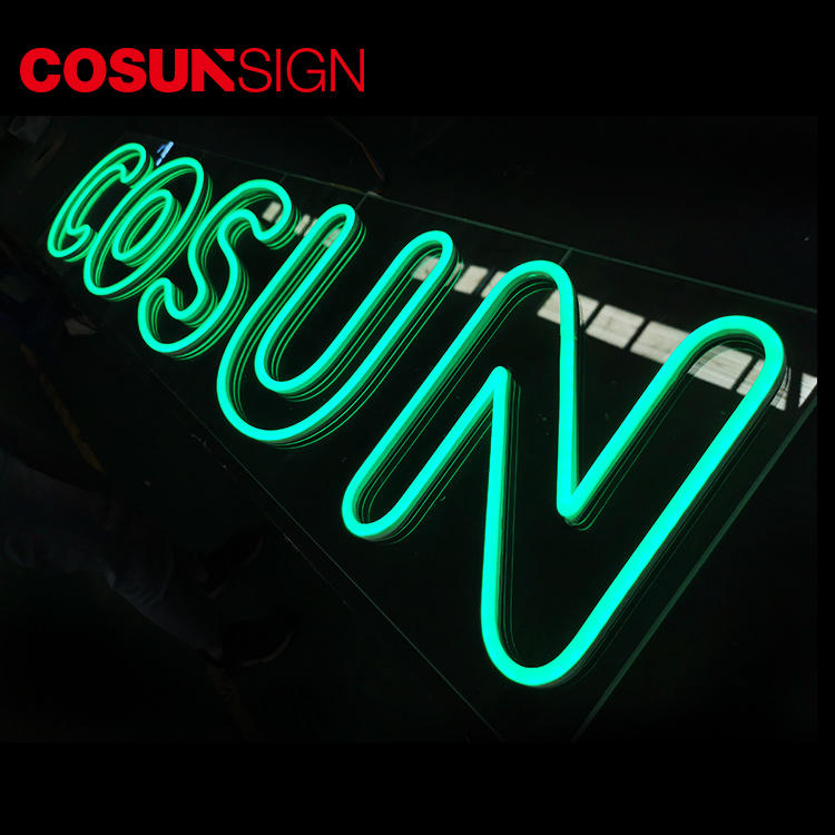 Custom indoor neon signs eye-catching company for hotel-2