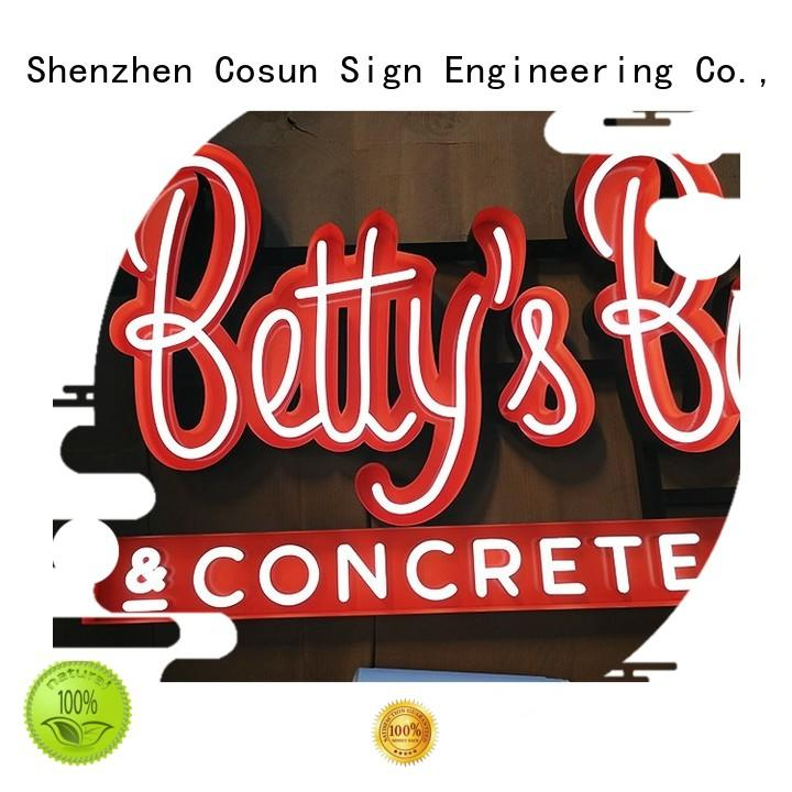 COSUN direct manufacturer neon sign popular for promotion