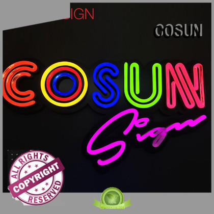 COSUN Wholesale all neon signs company for promotion