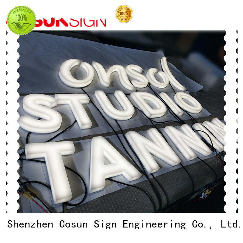 COSUN high-quality t style acrylic sign holder for pub club