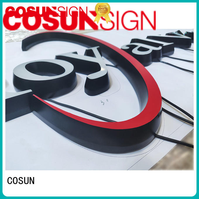 COSUN Wholesale wholesale acrylic signs Supply inquire now