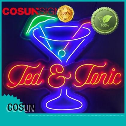 COSUN Wholesale custom neon signs online Suppliers