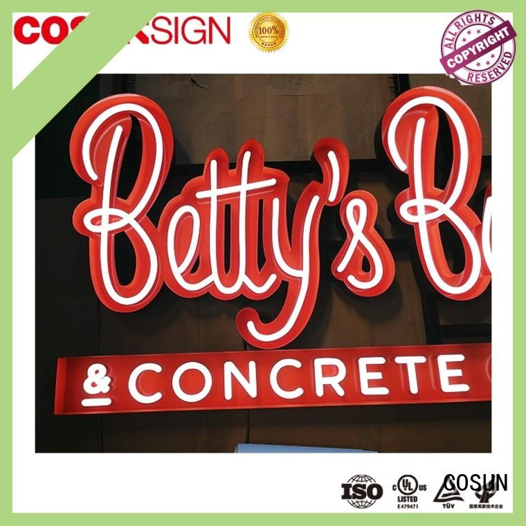 personalized neon signs hot-sale for house COSUN