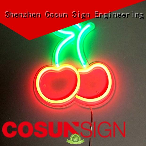 COSUN Top neon tube for business for promoting