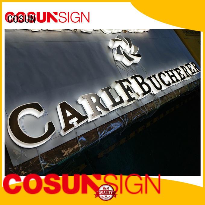 COSUN led base digital signature inquire now